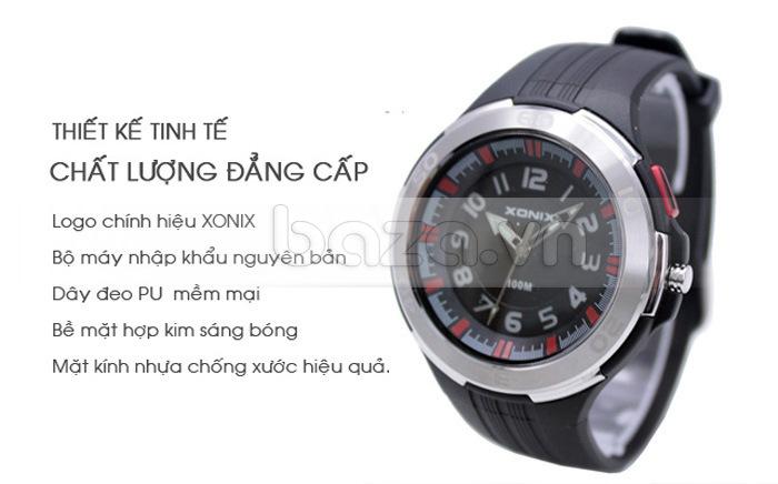 Đồng hồ thể thao Xonix SJ thiết kế tinh tế