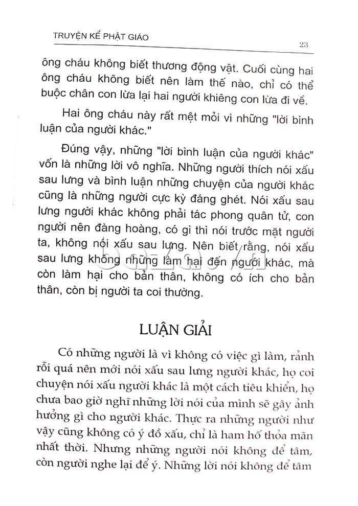 Truyện kể Phật giáo (Bìa xanh) sách tâm linh