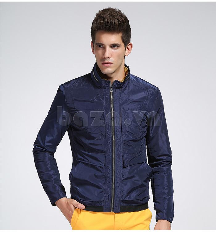 áo khoác nam thể thao No1Dara WTN38507 màu xanh cuốn hút