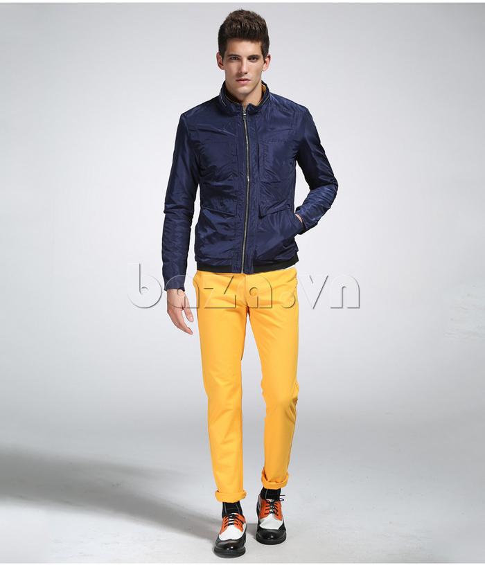 áo khoác nam thể thao No1Dara WTN38507 dễ dàng mix đồ