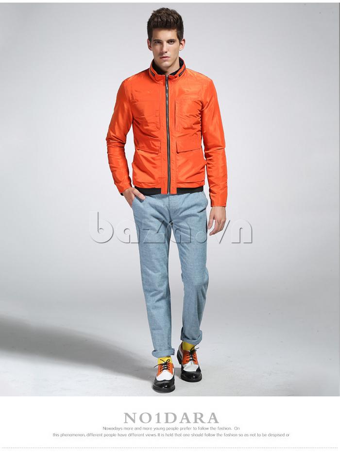 áo khoác nam thể thao No1Dara WTN38507 khỏe khoắn và năng động