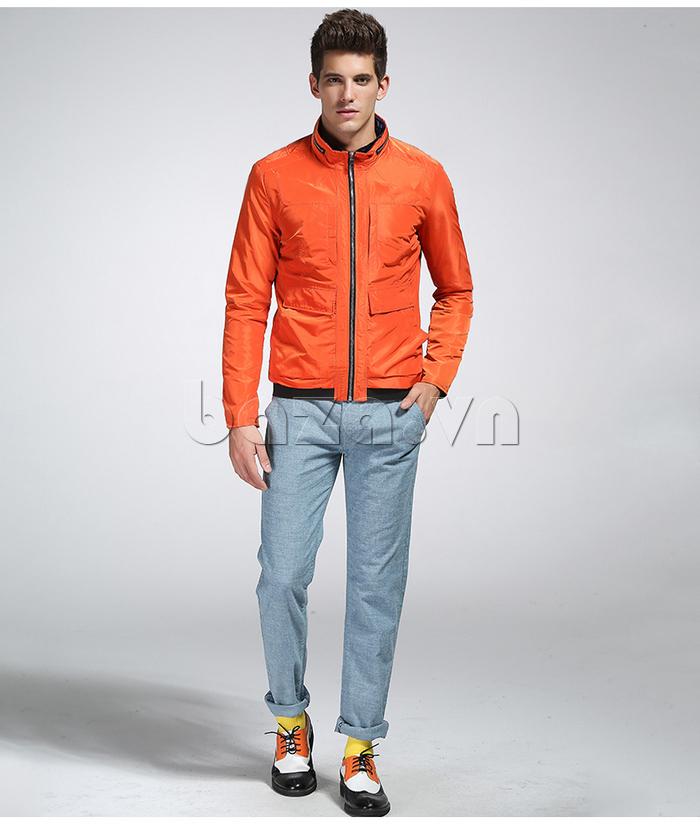 áo khoác nam thể thao No1Dara WTN38507 tôn dáng chuẩn