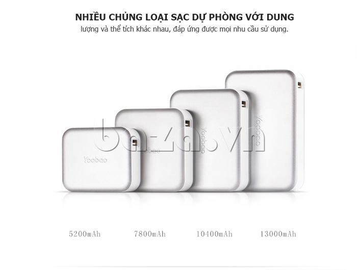 Pin dự phòng di động 5200mAh Yoobao DK025 YB-629 cao cấp