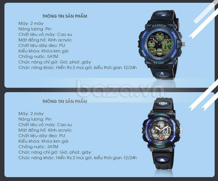 Thông tin sản phẩm : Đồng hồ thể thao PASNEW
