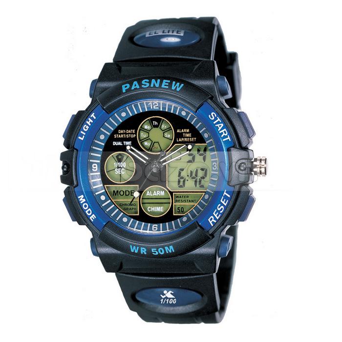 Đồng hồ thể thao PASNEW chất lượng hoàn hảo