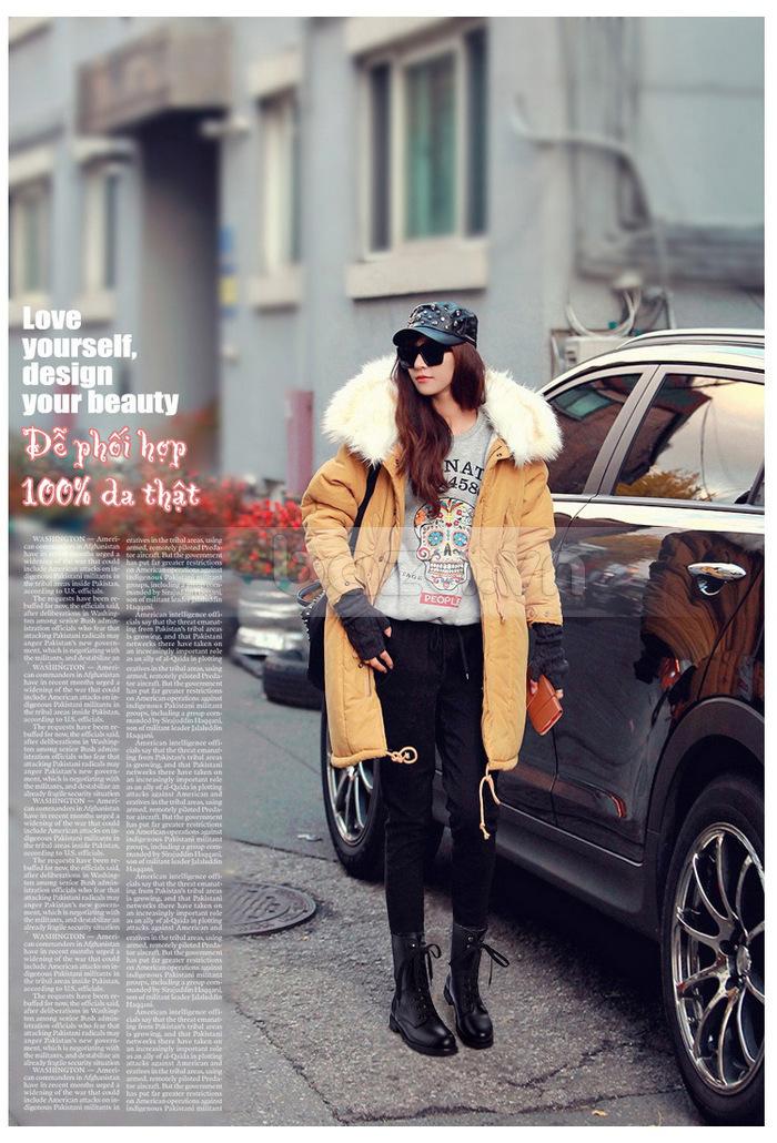 Hãy phối đồ theo bất kì phong cách nào mà bạn muốn với đôi giày bốt nữ Yiya
