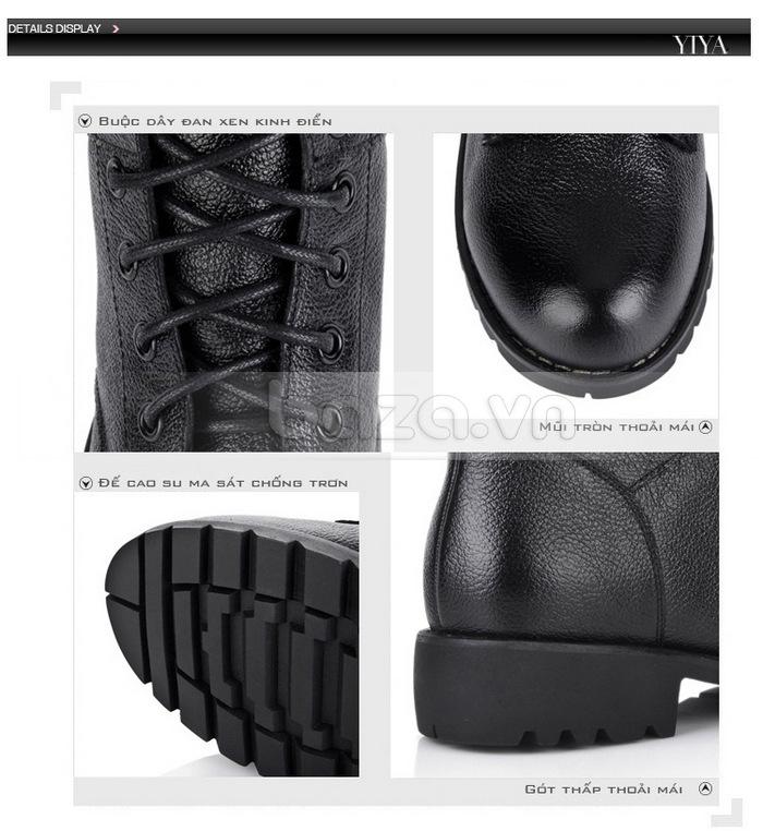 Từng chi tiết được trau chuốt tỉ mỉ để làm nên đôi giày nữ cao cấp