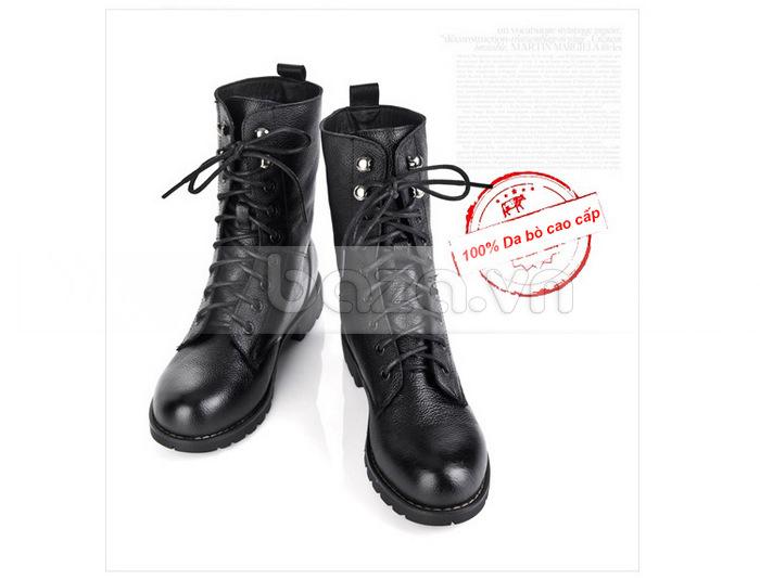 Giày bốt nữ Yiya kiểu dáng combat boots - Thể hiện vẻ đẹp hoàn hảo