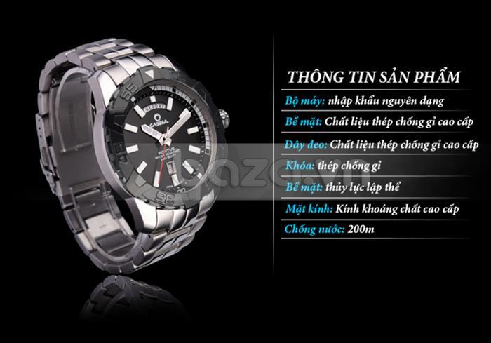 Thông tin sản phẩm Đồng hồ nam Casima PT-8901