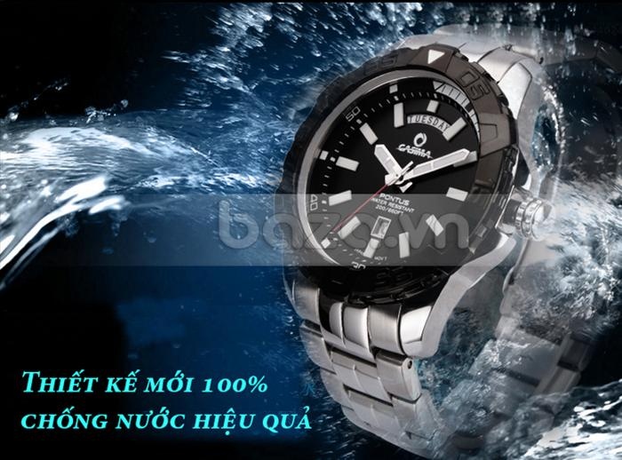 Đồng hồ nam Casima PT-8901 nổi trội với mức chống nước 200m