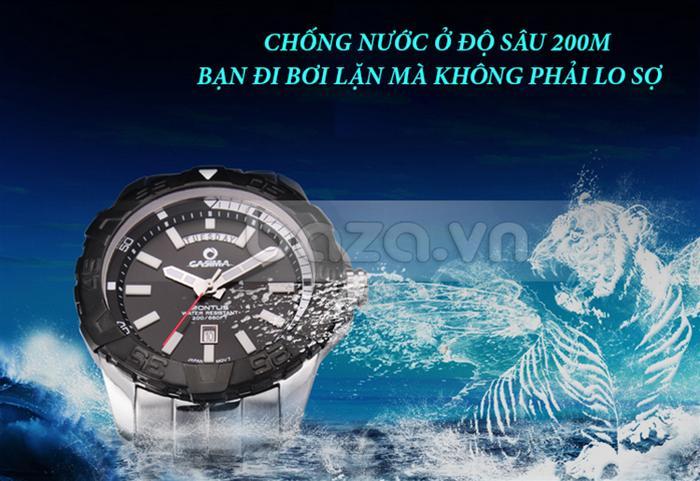 Đồng hồ nam Casima PT-8901 chống nước 200m cho nam giới thoải mái trong mọi hoạt động