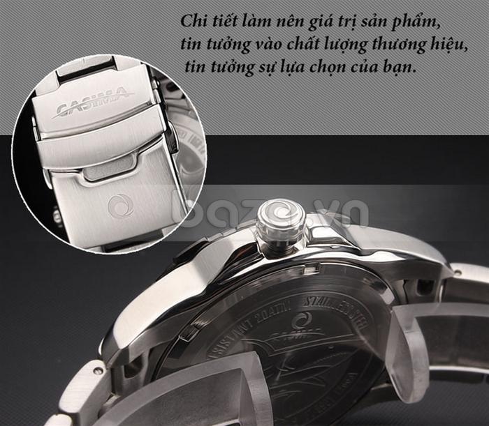 Từng chi tiết trên Đồng hồ nam Casima PT-8901 làm nên giá trị của sản phẩm