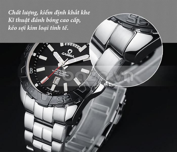 Chất lượng đồng hồ được kiểm định khắt khe