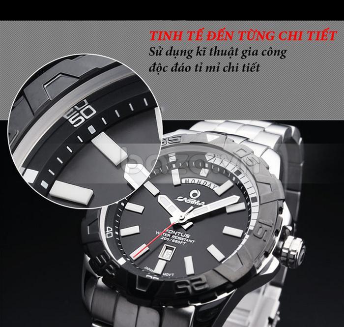 Đồng hồ nam Casima PT-8901 sử dụng kĩ thuật gia công độc đáo, tỉ mỉ, chi tiết