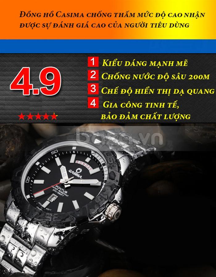 Đồng hồ nam Casima PT-8901