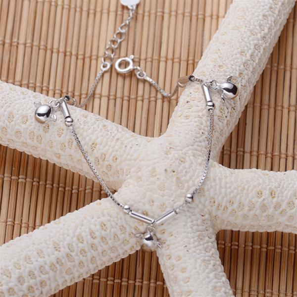 Baza.vn: Lắc tay Thiên Thần Tình Yêu chất liệu bạc 925 cao cấp
