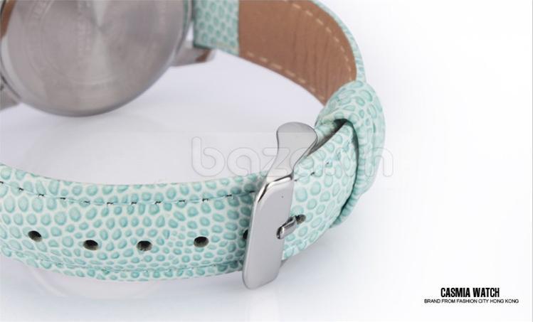 Dây đeo đồng hồ chất da tự nhiên với họa tiết cá tính, nổi bật