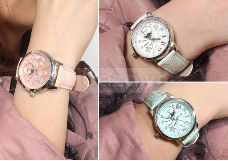 Đồng hồ nữ Casima SP-2802 dây đeo thời trang nhiều màu sắc cho bạn gái lựa chọn