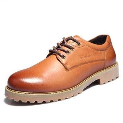 Giày da nam Simier 1312 kiểu mũi tròn