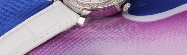 Đồng hồ nữ Casima SP-2905 màu trắng trẻ trung