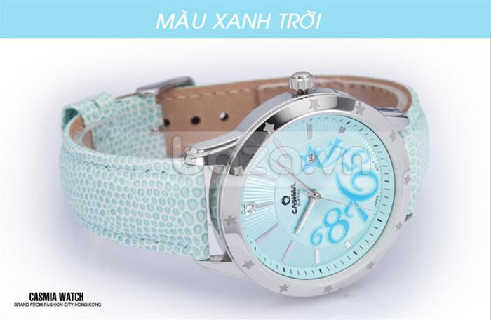 Đồng hồ nữ Casima SP-2802-SL6 màu xanh