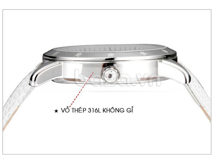 Đồng hồ nữ Casima SP-2802-SL6 vỏ thép 316l