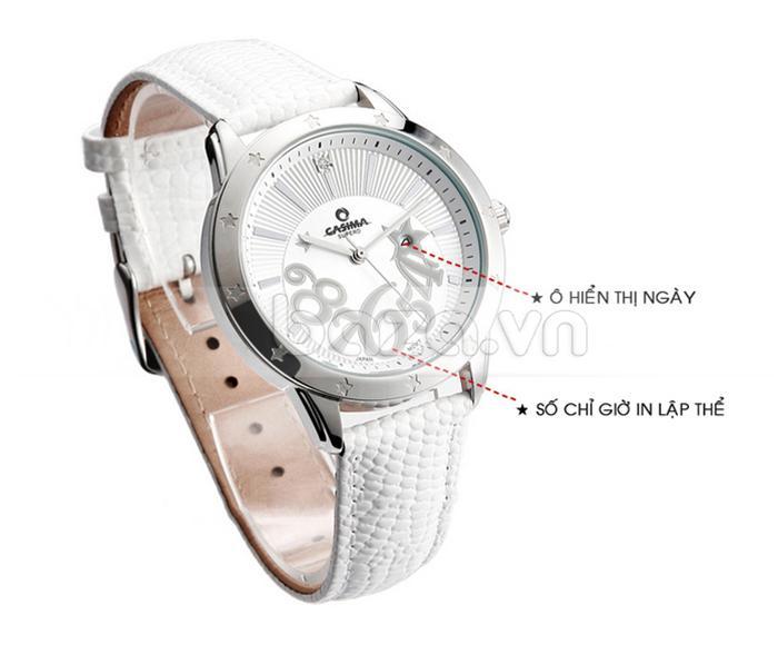Đồng hồ nữ Casima SP-2802-SL6 thời trang