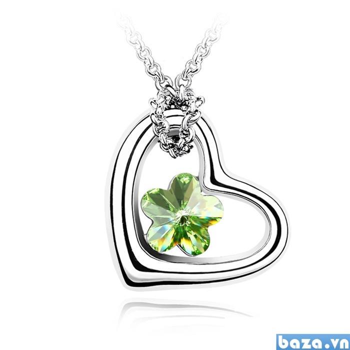 Dây chuyền trái tim mùa xuân khoe sắc ngọt ngào cho nữ giới