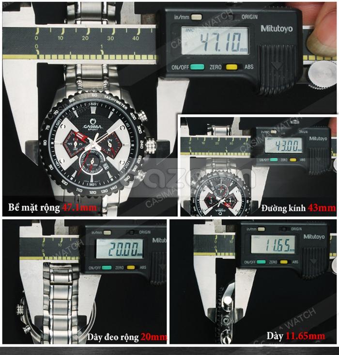 thiết kế của Đồng hồ nam Casima ST-8103-S8