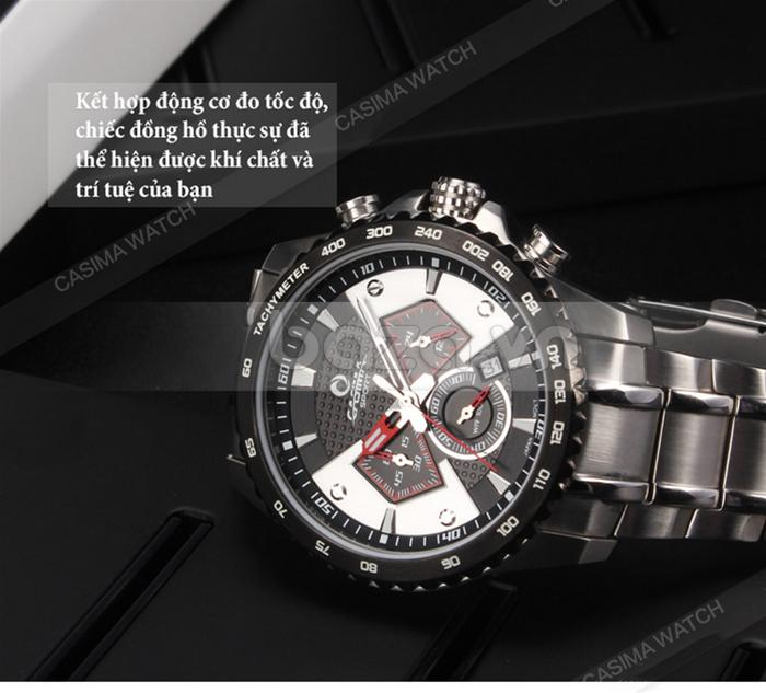 Đồng hồ nam Casima ST-8103-S8  đo giờ chính xác