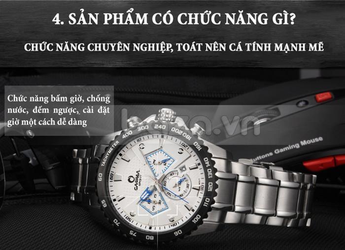 Đồng hồ nam Casima ST-8103-S8  đa chức năng