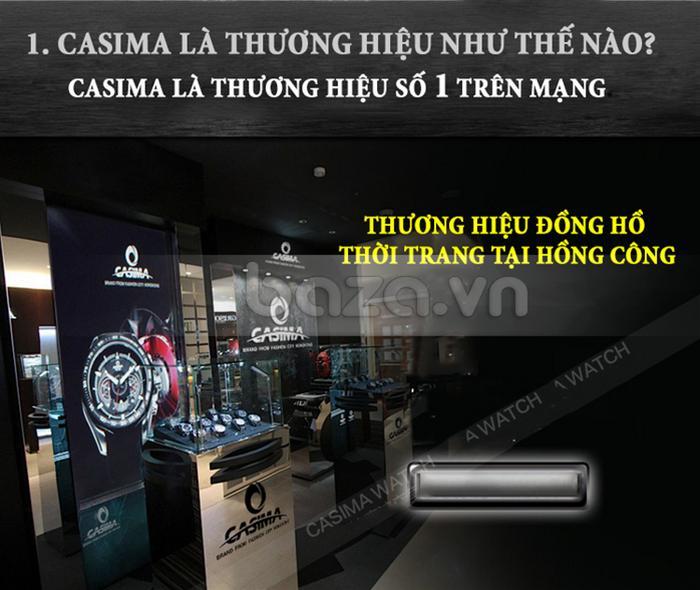 Đồng hồ nam Casima ST-8103-S8  thương hiệu số 1 hong kong