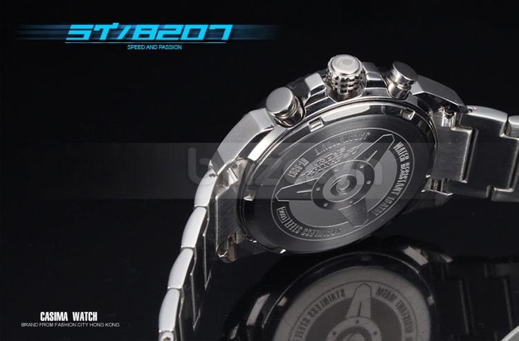 Baza.vn: Đồng hồ doanh nhân nam Casima ST-8207