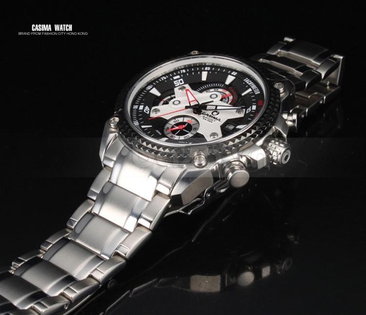 Baza.vn: Đồng hồ nam Casima ST-8207 kiểu dáng sang trọng