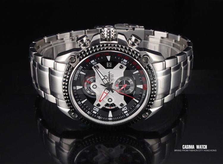 Baza.vn: Đồng hồ nam Casima ST-8207 có tính năng đo vận tốc