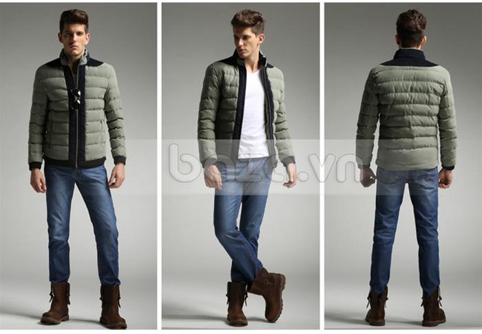 Áo khoác nam No1Dara WT9669 cho nam giới dễ dàng mix đồ