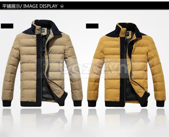 Áo khoác nam No1Dara WT9669 thuộc loại áo phao cho nam
