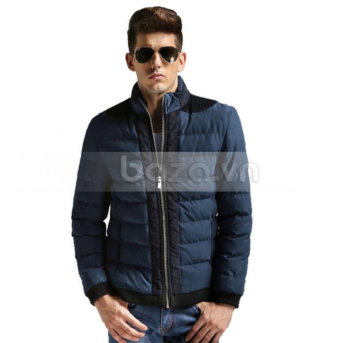 Áo khoác nam No1Dara WT9669 màu xanh đậm