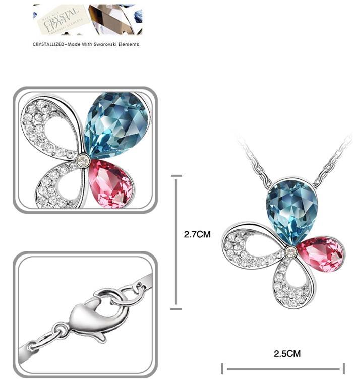 baza.vn: dây chuyền hoa bướm