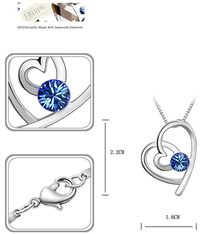 baza.vn:dây chuyền trái tim hòa hợp