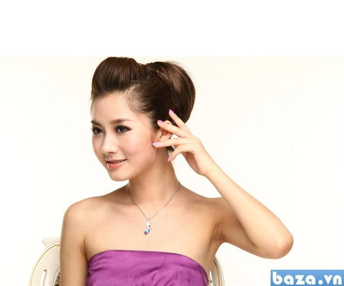 baza.vn: dây chuyền giầy thủy tinh quyến rũ