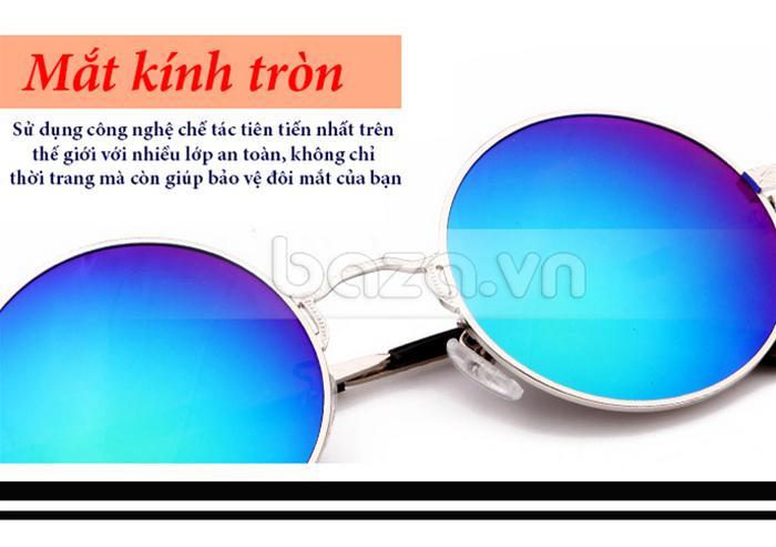 Kính thời trang RBSPACE 9008 - mắt kính tròn thanh lịch