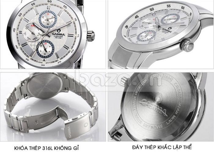Đồng hồ nam Casima CR5105-S8 thiết kế đẹp mắt