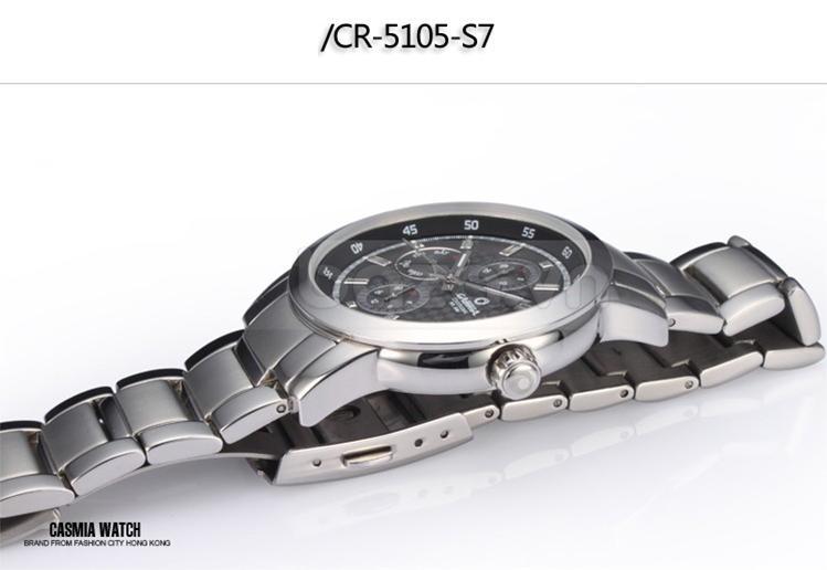 Baza.vn: Đồng hồ nam Casima CR-5105 hoàn hảo và đẹp