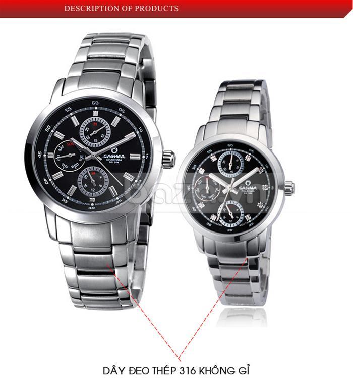 Đồng hồ nam Casima CR5105-S8 đẹp