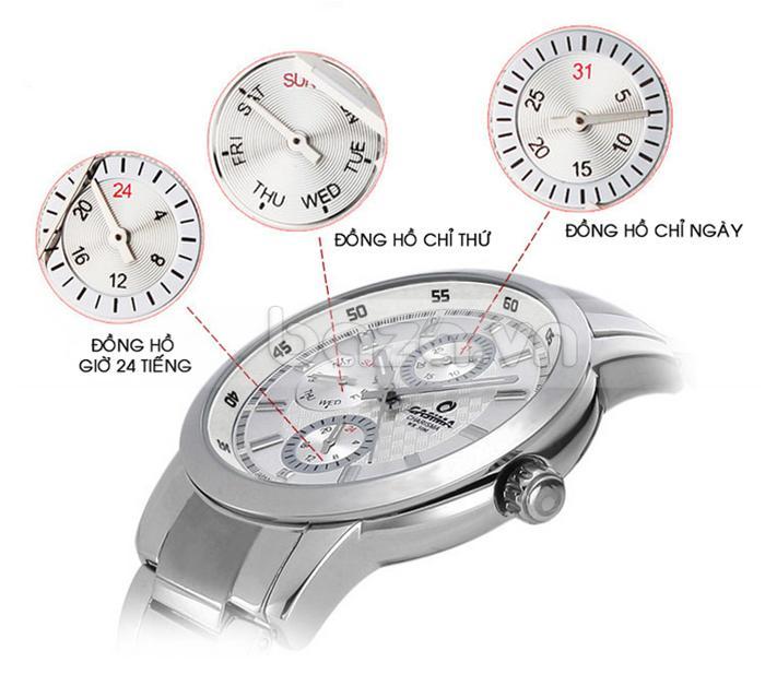 Baza.vn: Đồng hồ nam Casima CR-5105 tinh tế