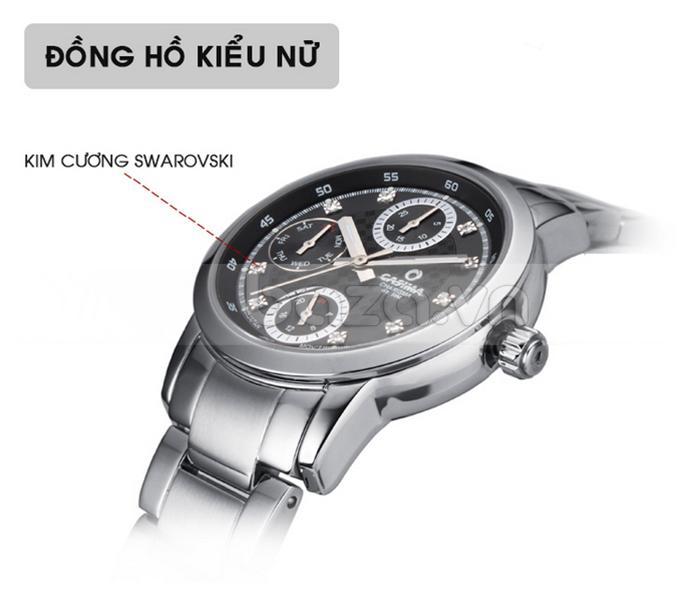 Đồng hồ nam Casima CR5105-S8 ấn tượng