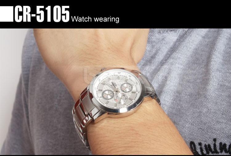 Baza.vn: Đồng hồ nam Casima CR-5105