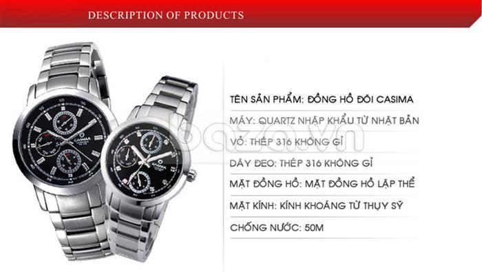Đồng hồ nam Casima CR5105-S8