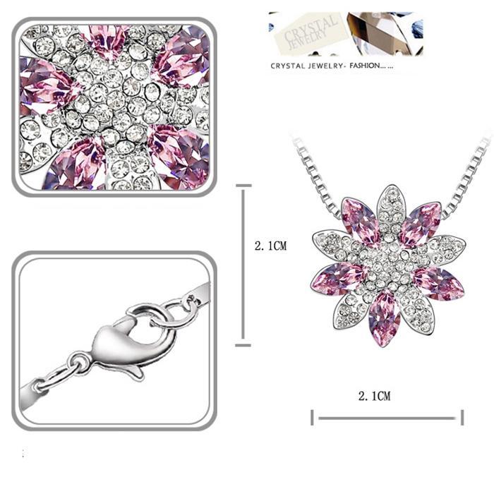 baza.vn: dây chuyền hoa sen tuyết